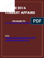 March 2014 Current Affairs (1)