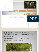 gua para realizar un zoolgico virtual