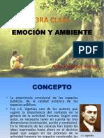 3era Clase - Emocion y Ambiente