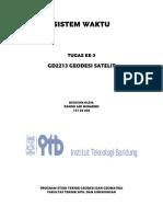 Geosat 3-Sistem Waktu