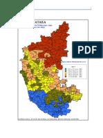Rainfall Maps of Karnataka