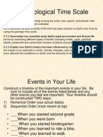 the geological time scale ppt