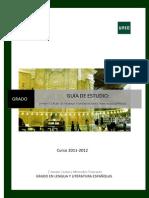 GUÍA II Latín Para Hispanistas 2011-2012