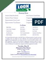 GOP Establishment Fundraiser for Jennifer Loon On May 20 2014