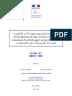 Rapport 2013-126R Controle OGDPC
