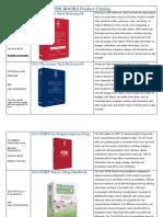 PDR Catalog