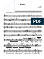 Bond - Hymn - Violin 1