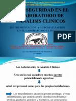 Bioseguridad en El Laboratorio de Analisis Clinicos