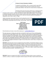 Dance Research Journal Submission Guidelines
