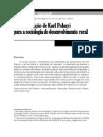 A Contribuição de Karl Polanyi