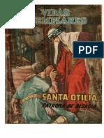 129585443 Vidas Ejemplares Santa Otilia Patrona de Alsacia Comic Novaro 01 Noviembre 1959 Historieta Completa Para Descargar 32 Paginas