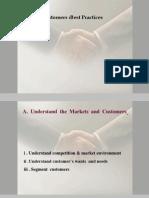 Customers - Best Practices