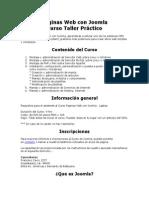 Paginas Web Con Joomla
