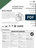Finepix s3200-s4000 Manual En