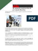29-04-2014 S Puebla - Moreno Valle anuncia construcción de un CESSA en Cañada Morelos.