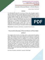 A Antropologia Personalista de Emmanuel Mounier e Os Direitos Humanos