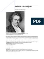 Análisis de La Sinfonía Nº 3 de Ludwig Van Beethoven