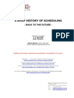 A Brief History of Scheduling