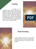 Brain Storming - Tool