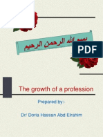1-The Growth of a Proffession