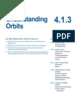 Section III.4.1.3 Understanding Orbits