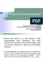 3. Area de Etica Empresarial I