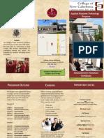 work sample - brochure cnc vr