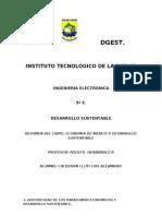 Resumen de Economia en Mexico y Desarrollo Sustentable