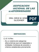 Clasificacion Internacional de Las Enefermedades