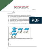 CCNA Intro Cert Prac Exam #1 - CCNA 2