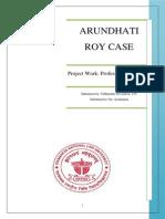Arundhati Roy Case