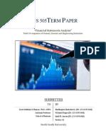 Financial Statements Analysis_Dhaka Stock Exchange