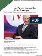 30-04-14 Presentarán en Palacio Nacional las leyes secundarias de energía - Grupo Milenio