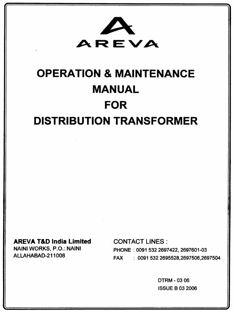 areva transformer manual transformer relay rh scribd com