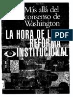 Reforma Institucional Banco Mundial