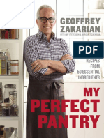 Excerpt from My Perfect Pantry by Geoffrey Zakarian