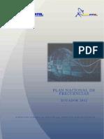 Plan Nacional Frecuencias 2012