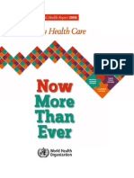 World Health Report 2008
