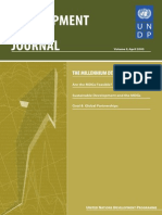 DevelopmentPolicy Journal MDGs Volume3
