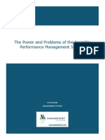 The Power and Problems of the Invisible Performance Management System