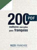 200 Melhores Mercados Para Franquias No Brasil