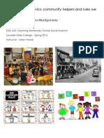 EDEL453 Spring2014 Sandramontgomery Unit Plan Planner