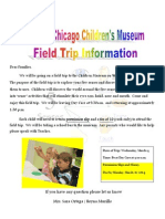 letter to parents field trip flyer and permissin slip