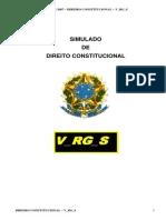 Simulado Direito Constitucional