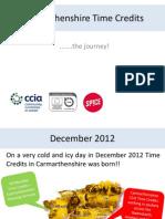 Carmarthenshire Time Credits - Time Line