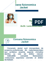 coroana fizionomina jacket