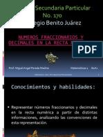 B1A2 Numeros Fracc y Decimales Mate 1