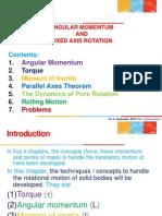 Angular Momentum - Physics F111 BITS Pilani
