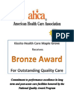 Bronze Award Flyer