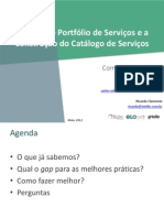 SP Palestra Catálogo de Serviços